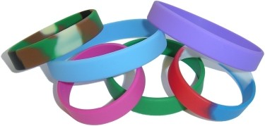 sample of wristbands