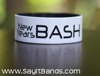 celebration custom wristbands one 1 inch
